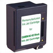 Premium Quality Black Inkjet Cartridge compatible with Canon 0881A003AA (BC-02)