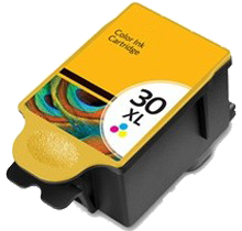 Premium Quality Color Inkjet Cartridge compatible with Kodak 1341080 (Kodak 30C XL)
